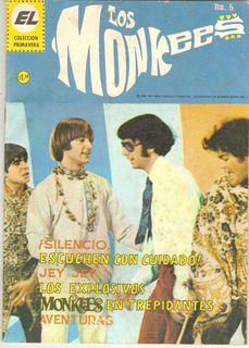 Los Monkees - Revista mexicana