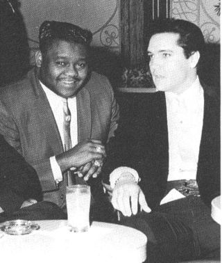 Fats domino and elvis