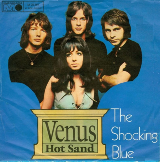 Shocking blue venus 1969 sencillo