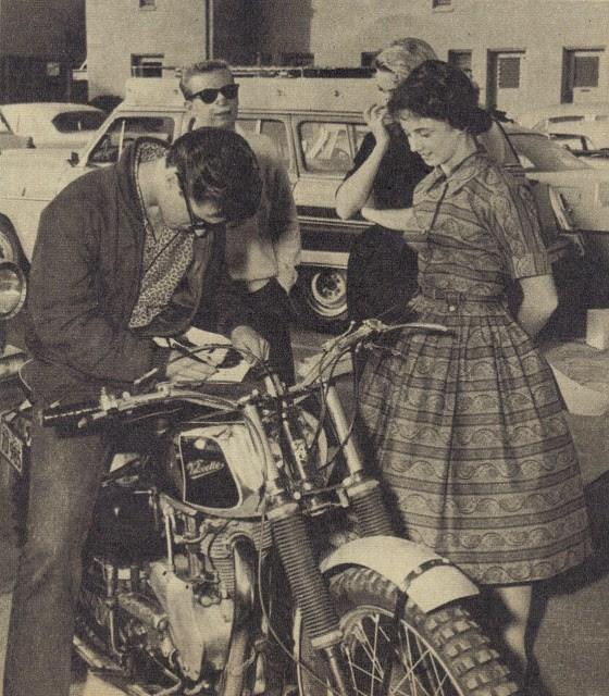 Ricky nelson en moto